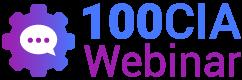 Logotipo 100cia Webinar